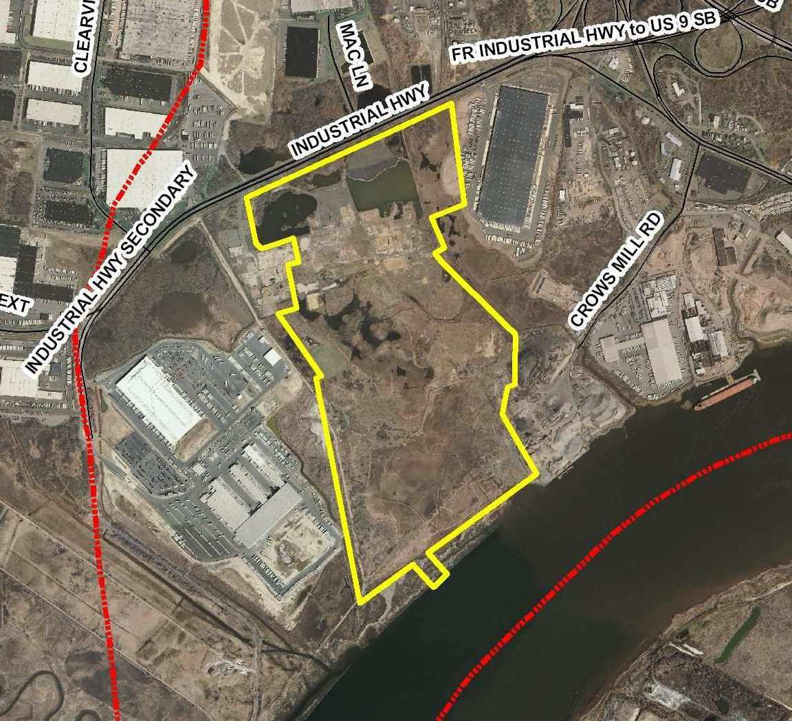 EPEC Site on banks of Raritan, EPEC Redevelopment Plan, Woodbridge